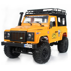 2019 New Arrivals MN-90 1 12 2.4G 4WD 15KM h RC Car 2 Body Shell & Front LED Light Rock Crawler Truck RTR Toy Kids Boys Gift