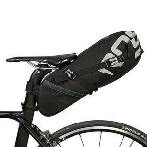 Wholesale bicycle seatpost bag resale online - ROSWHEEL A Bicycle Seatpost Bag L Cycling Rear Pack Tight Extendable Bag Black