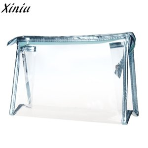 Wholesale Hot Sale Fashion Female Cosmetic Bag Beauty Case Women Clear Waterproof Storage Makeup Bags Travel Portable Clutch Fashion Tools