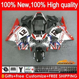 Wholesale honda 954 black red fairings resale online - OEM Body red black new For HONDA CBR RR CC CC CBR900 CBR954 RR HC CBR RR RR CBR900RR CBR954RR Fairings