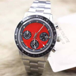 Luxury Wristwatch Vintage #5514 vk Japan Movement Stainless Steel Fashion Brand Men's Watch Wristwatch