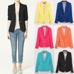 Wholesale NIFULLAN Blazer Women Turn Down Collor Full Solid Slim Single Breasted Suit Jacket Jaqueta Feminina Blazers Office Suits Work