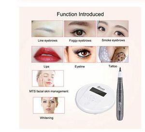 New Smart Permanent Makeup Tattoo Machine MTS PMU System Dermapen Eye Brow Lip Artmex V6 DHL Free Shipping