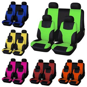 Wholesale 9Pcs and Universal Car Seat Cover Fit Most Cars Auto Seat Cushion Protector Car Interior Accessories Protector