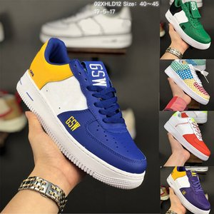 Wholesale 2019 Chaussures LV8 Utility Gingham Pack Team Orange One Running Skateboard Shoes for men Mens Forces Trainers Sports Designer Sneakers