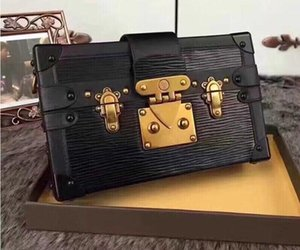 Wholesale Designer clutch Box Original Handbags Evening Bags Excellent Quality Leather purse Fashion Box Brick Messenger Shoulder Bag
