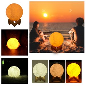 new 3D Moon Lamp Humidifier 880ML Night light Air Humidifier Essential Oils Diffusers USB Ultrasonic Humidificador Facial Steamer T2I5163