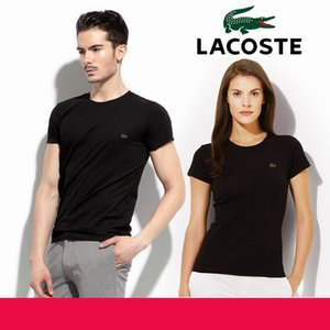 Wholesale 2019 New T Shirt Men women Crocodile Embroidery Slim Fit Solid Color fitness Casual Tops Cotton Comfortable Hot Sale Plus Size S XL