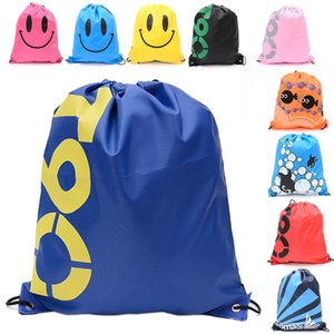 Wholesale Multi function Drawstring Non woven fabric Tote sundries bags waterproof Backpack folding bags Marketing Promotion shoulder Storage bag