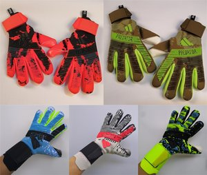 Predators pro 2.0 Latex Soccer Professional Goalkeeper Gloves Goalie without fingersave GK equipment wholesale supplier