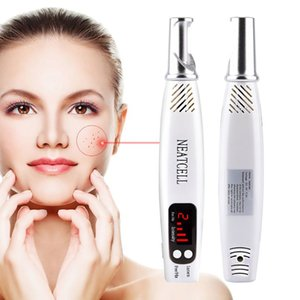 Wholesale New Arrival handheld Picosecond Laser Pen tattoo removal laser pen with red and blue light For Mole Dark Spot Acne Scar
