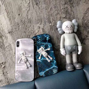 Wholesale cute couple toys for sale - Group buy For iPhone X XS Max XR S Plus Fashion Cute X Toy Phone Case Cartoon Soft Silicone Couple Phone Cover