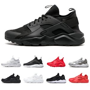 Wholesale Huarache Triple Black White red Men Designer Running Shoes Classical Huaraches Mens Womens Sports Sneaker Chaussures Size