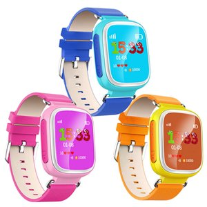 Wholesale Q80 Kids LBS Tracker Children Smart Watch Phone SIM Quad Band GSM Safe SOS Call PK Q50 Q90 For Android IOS smart watch