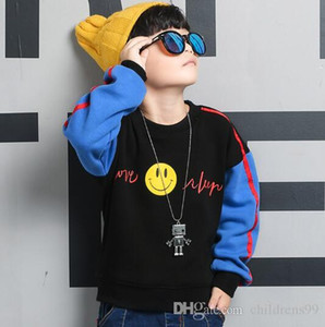 Wholesale fashion boy Kids Sets Kids Baby years sells best new autumn boy boy jacket sports coat hooded suit color sizes T TRE
