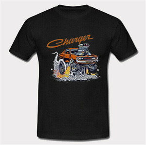 Wholesale Hot Valiant Charger Mopar Muscle Car Retro Vintage Classic T Shirt Hip Hop Tee Shirt