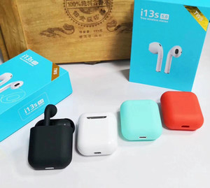 Bluetooth Headphones I3S TWS Twins Earbuds Mini Wireless Earphones Headset with Mic Stereo V5.0 for phone Android with retail Package