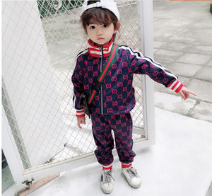 Wholesale and Autumn 2009 New Leisure Sportswear Fashion Colour Colour Coloured Two-piece Letter Card Zipper Parent-Child Suit for Boys and Gir