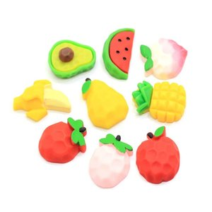 Wholesale Price Fruit Resin Charm d Fruits Sprinkles Craft Kawaii Earrings Necklace Bracelet Keychain Charms DIY Hairbow Center