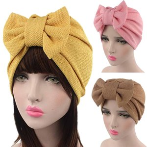 Wholesale slouchy beanies resale online - Warm Winter Hat For Women Ladies Baggy Beanie Women Stretch Cable Wool Knitted Messy Bun Hats Slouchy Chic Cap Headwear