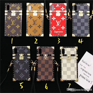 Wholesale For iphone Xs max case New brand design Phone Cover Case for iphone plus plus plus TPU silicone soft shell With Long Rope for XR X