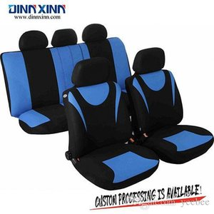 Wholesale DinnXinn 110342F9 Lexus 9 pcs full set woven car dog seat cover factory from China