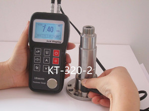 Wholesale ultrasonic thickness testers resale online - KT Best Quality Digital Electronic Ultrasonic Thickness Tester Ultrasonic Thickness Test Equipment ltrasonic Thickness Gauges Probe