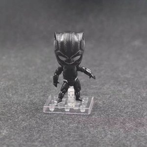 Wholesale Avengers Infinity War Black Panther Mini Action Figure scale painted figure Black Panther Variant PVC figure Toy Anime