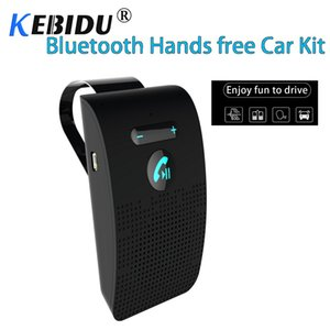 Wholesale Kebidu Bluetooth Handsfree Car Kit Wireless Auto Speakerphone Car Kit Sun Visor Hi Fi Lound Speaker For