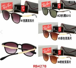 Wholesale luxury High quality new sunglasses fashion polarizer women glasses street shooting trend big frame brand sunglasses4728