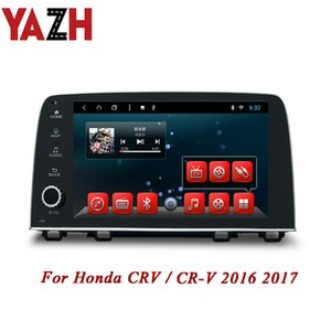 Wholesale YAZH Din Android Auto Radio Stereo No car dvd For Honda CRV CR V GB Head Unit Multimedia INCH IPS HD display
