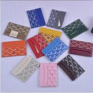 Wholesale 2019 new men women Clutch Wallets famous genuine leather credit card holder mini wallet