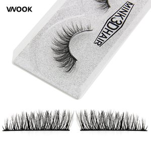Wholesale Vnook Brand Makeup d Mink False Eyelashes Natural Fake Eye Lashes Full Strip Eyelash Extension Styles Fashion Korean Make up