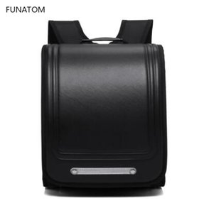 Wholesale Brand New School Bags Orthopedic Backpack For Boys and Girls Waterproof PU Randoseru Backpack Japan Student Bag