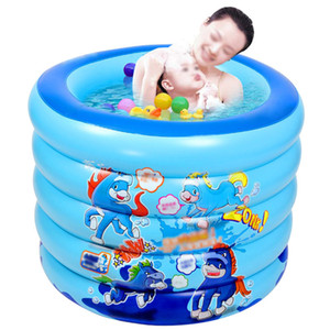 Wholesale Baby Inflatable Swimming Pool Children Basin Bathtub Portable Paddling Pool Kids Outdoor Home Use Play Inflatable