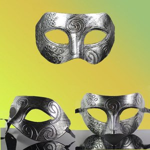Wholesale Sexy Women Eye Gold Or Silver Face Mask Masquerade Party Ball Prom Costume US Vendetta Mask Anonymous