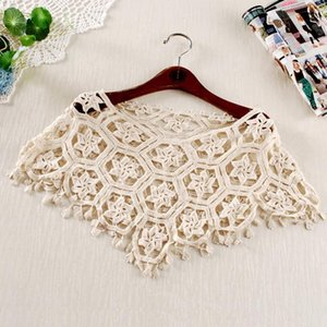 Wholesale Everweekend Kids Girls Sweet Lace Capes Poncho Jackets Shawl Y Candy Beige Color Floral Lace Ins Cute Children Clothes