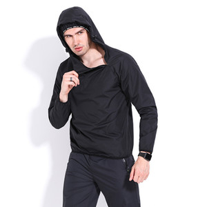 Mens Jogging Suits Tracksuits Gym Fitness Outdoor Running Athletic Hooded Tops and Jogger Pants Male Pullover Hoodie Pencil Pants Set on Sale
