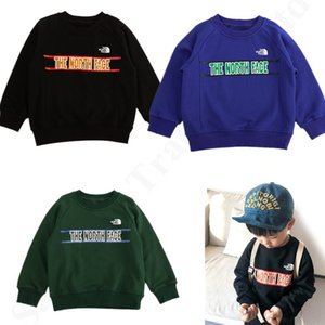 Wholesale 2019 New Autumn Kids Hoodie The North Designer Pullover Tops Face Sweater Brand Letter Embroidery Boys Girls Full Sleeve Sweatshirts C82703