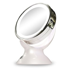 LED Cosmetic Mirror LED Lights Makeup Mirror 5X Magnifying Makeup 360-degree Rotating For Bathroom Bedroom