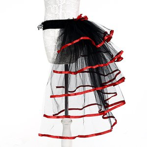 Wholesale Sexy Woman Skirts Adult Tulle Skirt Red Purple Tail Tutu Skirt Girls Cake Party Dance Ballet Women Gauze Custume Tutu