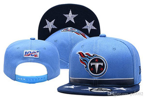 Wholesale New Titans Baycik Snapback Hat Blue Light Blue Draft On Stage Adjustable Hat Navy Light Blue Sideline Home Official Red Ball Caps