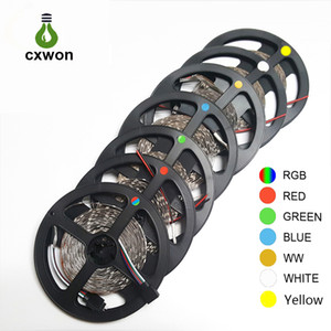 Wholesale Decoration LED Strip SMD3528 Waterproof m V LED Strip led leds Flexible led m led m Strip Light for Car