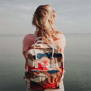 Wholesale Factory Swedish Fox Student Backpack for Men And Women Fashion Style Design Bag Junior High School Canvas Waterproof Backpack Brand Sports