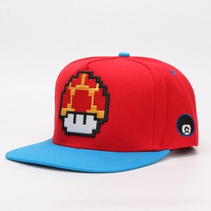 Game Super Mario Bros Mario Luigi Yoshi Snapback Baseball Caps Cartoon Casual Summer Sun Hats Couple Hip Hop