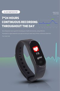 Wholesale Multi function Smart Bracelet Wristband Heart Rate Monitor Activity Tracker IP67 Waterproof Free Extral Wristband Color Options