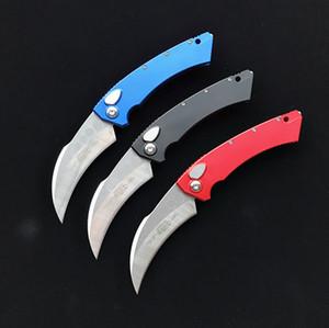 High-end!Micro-tech Karambit knives Hawk Auto Proof Run knife MIC 166 Aviation Aluminum handle pocket tactical edc tool
