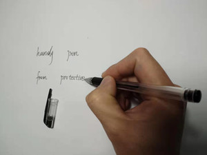 Black Gel Ink Pen 0.5 mm for Office back-office Office supplies in China office pen handy pen
