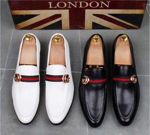 Wholesale High Quality Fashion Men High Top British Style Rrivet Causal Luxury Shoes Men Red Gold Black Bottom Shoes dress shoes men