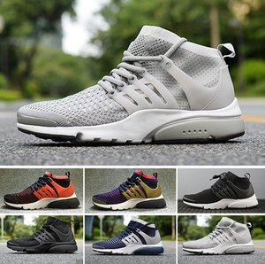 Wholesale 2018 New Presto V2 Ultra BR TP QS Black White X Running Shoes Cheap Sports Women Men aIrs Prestos Training off Training Sneakers